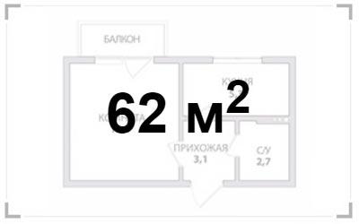 Элитный ремонт 2-х комнатной квартиры
