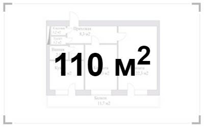 Элитный ремонт 4-х комнатной квартиры